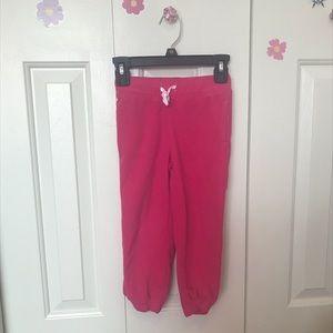 Pink Fleece Joggers